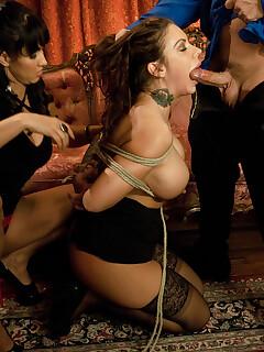 Bondage legs sex pics