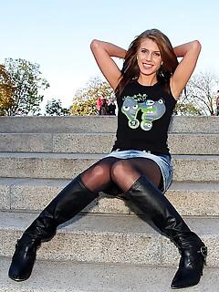 Boots legs sex pics