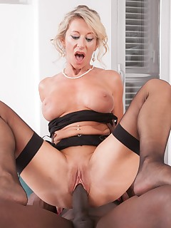 MILF Marina Beaulieu Stars in her first interracial