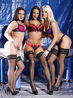 3 Vixens Fuck 1 Guy: Hardcore BDSM Group Sex Delight free photos and videos on DDFNetwork.com