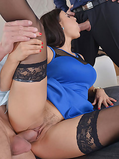 Apartment Hunting - Deal Closed Through Threesome With Realtor free photos and videos on DDFNetwork.com