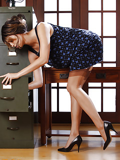 Legged secretary strips