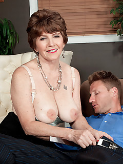 60 Plus MILFs - Bea's anal therapy - Bea Cummins and Levi Cash (64 Photos)