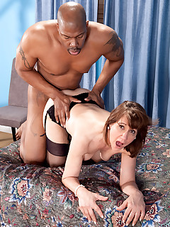50 Plus MILFs - Elle's Back For Some Big, Black Cock! - Elle Denay and Lucas Stone (52 Photos)