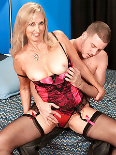 50 Plus MILFs - She's The Real McCoy! - Connie McCoy and Tony Rubino (52 Photos)