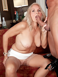 50 Plus MILFs - Chery Leigh's first time - Chery Leigh and Tony D'Sergio (49 Photos)