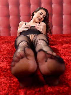 Her World of Arousal free photos and videos on HotLegsandFeet.com