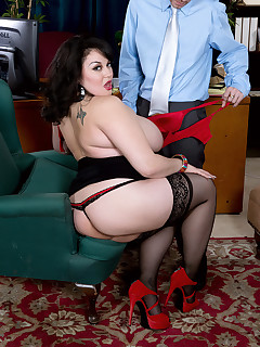 XL Girls - The Anal Office - Julia Juggs and Tony Rubino (121 Photos)