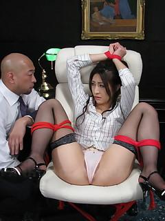 Julia Nanase stimulated and masturbated hard. | Japan HDV