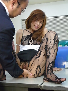 Hot lady Rina Kikukawa gets fucked so hard | Japan HDV