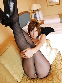 Asian office girl is a slutty in stockings @ Idols69.com... Always more then you expect!