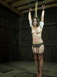 Real Time Bondage | Live BDSM Shows and Device Bondage | Charlotte Getting Vicious Attention